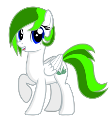 Size: 4540x5000 | Tagged: safe, artist:dtavs.exe, oc, oc:flor de izote(izzi), pegasus, female, looking at you, mare, mole, pegasus oc, show accurate, simple background, transparent background