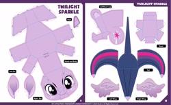 Size: 2560x1566   Tagged: safe, artist:eljoeydesigns, seven seas, twilight sparkle, alicorn, craft, papercraft, solo, twilight sparkle (alicorn)