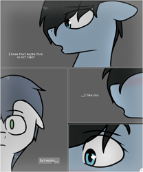 Size: 2520x3028 | Tagged: safe, artist:hodwoolds, rainbow dash, soarin', female, male, redesign, shipping, soarindash, straight