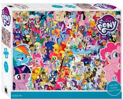 Size: 1000x800   Tagged: safe, ahuizotl, aloe, amethyst star, angel bunny, apple bloom, apple split, apple strudel, applejack, babs seed, berry punch, berryshine, big macintosh, blossomforth, bulk biceps, carrot cake, carrot top, cheerilee, cheese sandwich, cherry jubilee, cloudchaser, coco pommel, colter sobchak, crafty crate, cranky doodle donkey, cup cake, daisy, daisy dreams, daring do, derpy hooves, diamond tiara, discord, dj pon-3, doctor horse, doctor stable, doctor whooves, donut joe, elizabeak, fancypants, featherweight, fili-second, filthy rich, flam, fleur-de-lis, flim, flitter, florina tart, flower wishes, fluttershy, full steam, gilda, gizmo, golden gavel, golden harvest, granny smith, gummy, hoity toity, humdrum, iron will, jeff letrotski, jesús pezuña, lily, lily valley, lord tirek, lotus blossom, lyra heartstrings, mane-iac, mare do well, masked matter-horn, matilda, maud pie, mayor mare, minuette, mistress marevelous, nurse redheart, octavia melody, pepperdance, photo finish, pinkie pie, pish posh, pound cake, princess cadance, princess celestia, princess luna, promontory, pumpkin cake, queen chrysalis, radiance, rainbow dash, rarity, raven, roseluck, rumble, saddle rager, scootaloo, screw loose, silver frames, snails, snips, sparkler, spike, spitfire, starlight glimmer, steven magnet, stormfeather, sunset shimmer, sunshower raindrops, surf, swan song, sweet tooth, sweetie belle, tank, time turner, turf, twilight sparkle, twist, vance van vendington, vinyl scratch, winona, zapp, zecora, alicorn, bat pony, centaur, changeling, draconequus, dragon, earth pony, pony, unicorn, zebra, equestria girls, 2016 character collage, apple family member, applejack's hat, bat ponified, bipedal, box, clothes, cowboy hat, female, flim flam brothers, flutterbat, future twilight, gritted teeth, hat, hatless, male, mane seven, mane six, missing accessory, open mouth, power ponies, puzzle, race swap, royal guard, spa twins, stock vector, teeth, twilight sparkle (alicorn