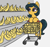 Size: 1260x1188   Tagged: safe, artist:t72b, cleopatra jazz, earth pony, pony, alternate hairstyle, banana, female, food, mare, shitposting, shopping cart, solo