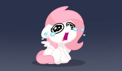 Size: 1200x700   Tagged: safe, artist:sugar morning, oc, oc:sugar morning, adorable distress, crying, cute, female, filly, solo