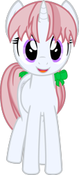 Size: 1421x3124 | Tagged: safe, artist:cranberry-tofu, oc, oc:whisper call, pony, unicorn, female, mare, simple background, solo, transparent background, vector