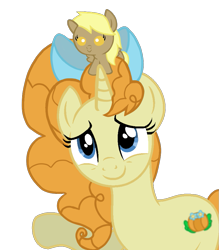 Size: 809x925   Tagged: safe, artist:candyandflurry, pumpkin cake, oc, oc:time muffin, pony, baby, baby pony, offspring, older, parent:derpy hooves, parent:doctor whooves, parents:doctorderpy, simple background, transparent background