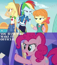 Size: 1920x2160   Tagged: safe, applejack, megan williams, rainbow dash, equestria girls, equestria girls series, rollercoaster of friendship, pinkius piecus
