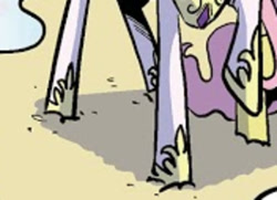 Size: 350x253 | Tagged: safe, princess celestia, spoiler:comic, cropped, legs, pictures of legs