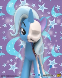 Size: 1639x2048 | Tagged: safe, part of a set, trixie, pony, unicorn, official, 3d render, bone, dissectibles, female, freeny's hidden dissectibles, mare, merchandise, my little pony logo, organs, poster, skeleton, solo