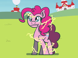 Size: 1800x1350 | Tagged: safe, artist:flutterluv, pinkie pie, earth pony, pony, atg 2021, newbie artist training grounds, solo