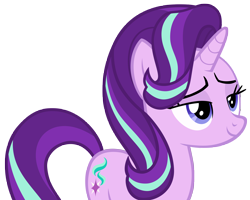 Size: 7344x5867 | Tagged: safe, artist:andoanimalia, starlight glimmer, unicorn, to change a changeling, female, simple background, transparent background, vector