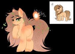 Size: 3191x2297 | Tagged: safe, artist:inspiredpixels, oc, oc:sunburst peach, earth pony, pony, female, mare, simple background, solo, transparent background