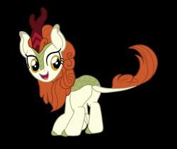 Size: 1607x1349 | Tagged: safe, artist:gmaplay, autumn blaze, kirin, pony, sounds of silence, ass, blazebutt, butt, plot, solo