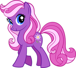 Size: 3000x2675 | Tagged: safe, artist:catachromatic, artist:the smiling pony, daisy dreams, earth pony, pony, .svg available, box art, solo, svg, vector, vector trace