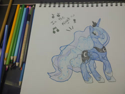 Size: 1280x960 | Tagged: safe, artist:dougtheloremaster, princess luna, sketch