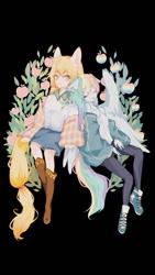 Size: 500x889 | Tagged: safe, applejack, rainbow dash, equestria girls, appledash, female, lesbian, shipping