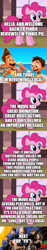 Size: 500x2662 | Tagged: safe, edit, edited screencap, screencap, pinkie pie, comic:pinkie reviews, comic, fast and furious, movie review, pixar, screencap comic, the fast and the furious