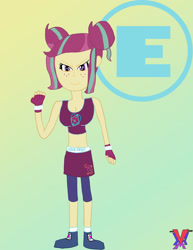 Size: 1920x2485   Tagged: safe, artist:thevhm108, sour sweet, equestria girls, crossover, exeron fighters, exeron gloves, exeron outfit