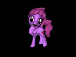 Size: 1200x900   Tagged: safe, artist:mrbarney94, berry punch, berryshine, earth pony, pony, 3d, 3d pony creator, background pony, burp, female, mare, open mouth, ponylumen, simple background, transparent background
