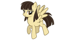 Size: 3200x1800 | Tagged: safe, artist:jakeneutron, wild fire, pegasus, female, lidded eyes, looking at you, mare, pose, puppet, simple background, smiling, smiling at you, solo, transparent background
