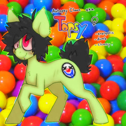 Size: 1000x1000 | Tagged: safe, artist:mclovin, oc, earth pony, pony, bags under eyes, blushing, piercing, reference sheet, short hair, short tail, solo
