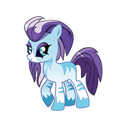 Size: 274x274 | Tagged: safe, crystal (character), kelpie, idw, missing cutie mark, simple background, transparent background