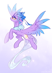 Size: 2979x4182 | Tagged: safe, artist:vincher, oc, oc:empyrea, pegasus, feather, female, solo, wings