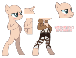Size: 2880x2184 | Tagged: safe, artist:maiii-san, oc, oc only, alicorn, earth pony, pony, alicorn oc, bald, base, bipedal, blushing, clothes, eyelashes, female, frown, horn, male, mare, simple background, stallion, transparent background, wings