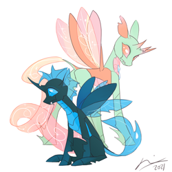 Size: 1280x1280 | Tagged: safe, artist:creeate97, oc, oc:zypher, changedling, changeling, changeling oc, solo