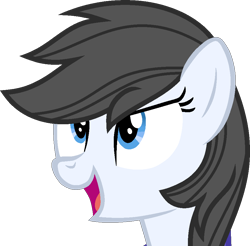 Size: 914x901 | Tagged: safe, artist:pegasski, oc, oc only, earth pony, pony, base used, bust, earth pony oc, eyelashes, female, mare, open mouth, simple background, smiling, solo, transparent background