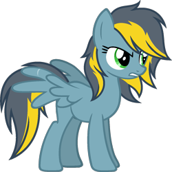 Size: 1239x1237 | Tagged: safe, artist:pegasski, oc, oc:conquering storm, pegasus, pony, female, mare, simple background, solo, transparent background