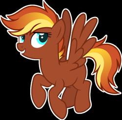 Size: 1024x1010 | Tagged: safe, artist:pegasski, oc, oc:rapidfire, pegasus, pony, female, mare, simple background, solo, transparent background
