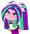 Size: 1029x1180   Tagged: safe, alternate version, artist:batipin, aria blaze, equestria girls, :i, angry, blushing, chibi, puffy cheeks, solo, tears of anger, teary eyes