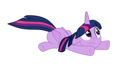 Size: 2224x1273 | Tagged: safe, artist:gmaplay, twilight sparkle, alicorn, pony, solo, twilight sparkle (alicorn)