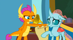 Size: 1920x1076 | Tagged: safe, screencap, ocellus, smolder, 2 4 6 greaaat