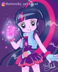 Size: 639x782   Tagged: safe, artist:fluttershy_art.nurul, twilight sparkle, equestria girls, female, powerpuff girls z, solo