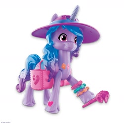 Size: 2400x2400 | Tagged: safe, izzy moonbow, pony, g5, official, hat, toy