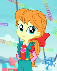 Size: 850x1050 | Tagged: safe, artist:rjp.rammy, megan williams, equestria girls, equestria girls series, g1, rollercoaster of friendship, clothes, g1 to g4, generation leap, solo