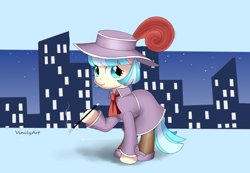 Size: 1026x712 | Tagged: safe, artist:vinilyart, coco pommel, earth pony, pony, clothes, cocobetes, cute, hat