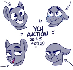 Size: 700x674 | Tagged: safe, artist:rutkotka, angry, auction, commission, confident, emotions, funny, icon, sad, your character here