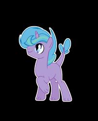 Size: 1820x2240 | Tagged: safe, artist:stardustshadowsentry, oc, dracony, hybrid, pony, unicorn, interspecies offspring, male, offspring, outline, parent:spike, parent:twilight sparkle, parents:twispike, simple background, solo, stallion, transparent background