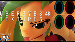 Size: 3840x2160 | Tagged: safe, artist:hevexy, oc, oc only, oc:wooden toaster, pegasus, anthro, 3d, angry, anthro oc, clothes, collar, download, downloadable, eye, eyes, female, high res, nexgen, open mouth, pegasus oc, pupils, shirt, solo, source filmmaker, spread wings, texture, tongue out, wings
