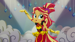 Size: 1920x1078 | Tagged: safe, screencap, sunset shimmer, dance magic, equestria girls, spoiler:eqg specials, solo