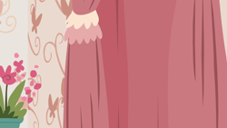 Size: 1280x720   Tagged: safe, screencap, discordant harmony, background, curtain, discord's house, flower, liminal space, no pony, scenic ponyville