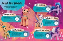 Size: 1500x990 | Tagged: safe, hitch trailblazer, izzy moonbow, pipp petals, sunny starscout, zipp storm, earth pony, pegasus, pony, unicorn, g5, official, female, male, mane five (g5)
