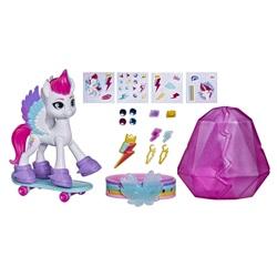 Size: 2000x2000 | Tagged: safe, zipp storm, pegasus, pony, g5, official, female, mare, skateboard, sticker, toy, wristband