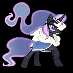 Size: 1280x1280   Tagged: safe, artist:renhorse, oc, pony, unicorn, female, mare, mask, simple background, solo, transparent background