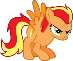Size: 1442x1204 | Tagged: safe, artist:pegasski, oc, oc:firefoot, pegasus, pony, female, mare, simple background, solo, transparent background