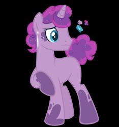 Size: 1500x1600 | Tagged: safe, artist:magicuniclaws, oc, pony, unicorn, magical lesbian spawn, male, offspring, parent:pinkie pie, parent:princess luna, parents:lunapie, simple background, solo, stallion, transparent background