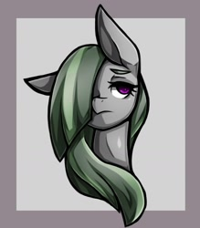 Size: 1543x1764 | Tagged: safe, artist:kyouman1010, marble pie, bust, female, mare, portrait, solo