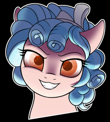 https://derpicdn.net/img/view/2021/7/17/2657939__safe_artist-colon-thehuskylord_cozy+glow_pegasus_pony_bow_bust_curly+hair_evil+grin_grin_looking+at+you_simple+background_smiling_smiling+at+you_solo_t.png