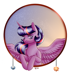 Size: 1280x1280 | Tagged: safe, artist:brilliantluna, twilight sparkle, alicorn, pony, bust, portrait, simple background, solo, transparent background, twilight sparkle (alicorn)